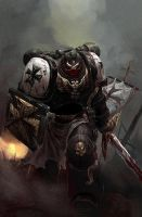 Space marine awesome face by Konzensama-Sanzosama