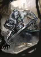Dark Souls 2 by n3tninja