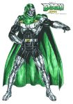 Doctor Doom mark 3 by kiborgalexic