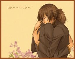 Lelouch x Suzaku by Sephy-Cloud
