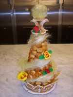 Croquembouche by Cupcake-Killer