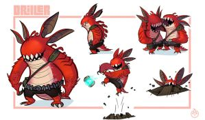 Driller by deadslug