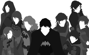Family of 9 - Vector Wallpaper by InTheSkySoBlue
