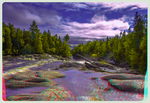 Pinguisibi / Sand River 3-D ::: HDR/Raw Anaglyph by zour