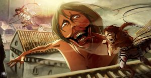 Attack on titan - Eren's revenge by Reicheran