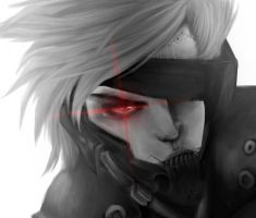 Raiden Photoshop Painting by Lady-Was-Taken