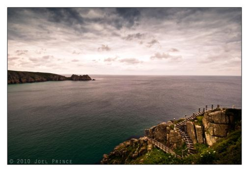 Porthcurno Bay 76-310 by Prince-Photography
