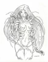 Witchblade commission by csmithart