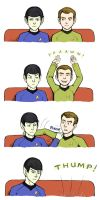 Trek: Nerve Pinch Vs. Yawn by foxysquid