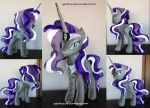 Nightmare Rarity plush by agatrix