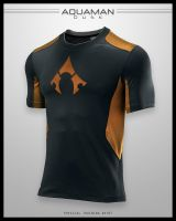 Aquaman Dusk Shirt by seventhirtytwo