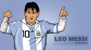 Messi - Argentina by IGOORMAXIMO