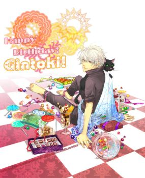 happy birthday to gintoki by dorset