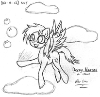 2012-03-11-Derpy Hooves Cover by Valorcrow