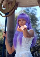 Athena - Saint Seiya VI by theredviper