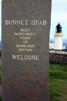 Dunnett Head and Lighthouse by printsILike