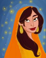 The sultana of Agrabah by SerifeB