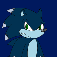 Sonic the Werehog by SuperMarcosLucky96