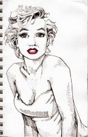 marilyn by lucydanger