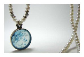 Agate of Blue -sold by 925-STUDIO