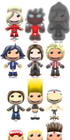 KOF XIII Sackboys by ChrisFClarke