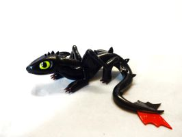 Yet Another Toothless Sculpture by ByToothAndClaw