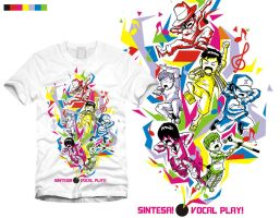 Sintesa vocal play tees by eyewitness21