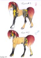 Foals of Vivien and Alessio N.3 by viviwonda