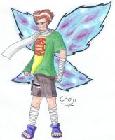 Naruto: Choji Butterfly by Faithie-Chan