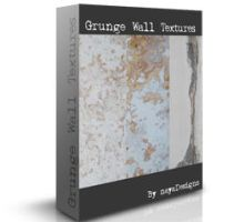 grunge wall textures by NayaDesigns