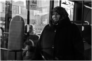 SVML - Woman in the bus by andyshade
