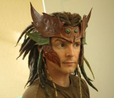 Wood Elf Headdress by Shendorion