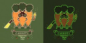 Carrots by randyotter