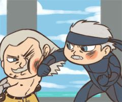 MGS - punch out by FerioWind