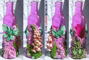 Coloured Bottle Series - Pink by spaceship505