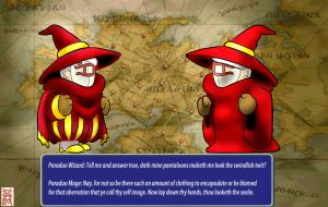 There Are No Red Mages by MrParaduo
