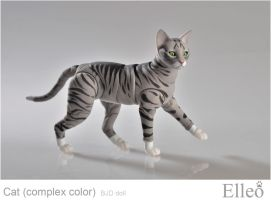 Bjd Cat Elleo by leo3dmodels