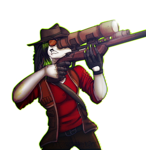 Team Fortress 2 Sniper -Lupe by Wolf-Lisa