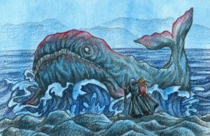 Red Whale by Ameza