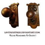 Wonderland Door Knobs Png Stock by KarahRobinson-Art