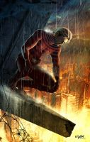 "DAREDEVIL ""WATCHING"" by isikol"