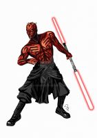 Darth Maul by Fandias