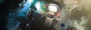 HALO3 the final fight by xavervs