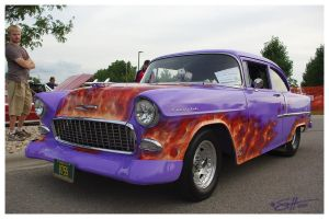 Flamed Chevy by scottalynch