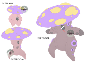 Toadstool Terrors by Sketch-Lampoon