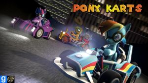 [DL] Pony Karts by BeardedDoomGuy