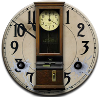 Steampunk Punch Clock Icon by yereverluvinuncleber