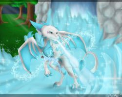 Freeze The Water by GoldenTigerDragon