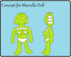 Marcella Doll Concept by backerman