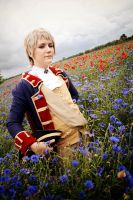 Hetalia - Blue Field by acophoto